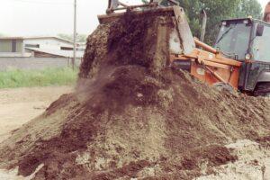 Miscelazione del top soil