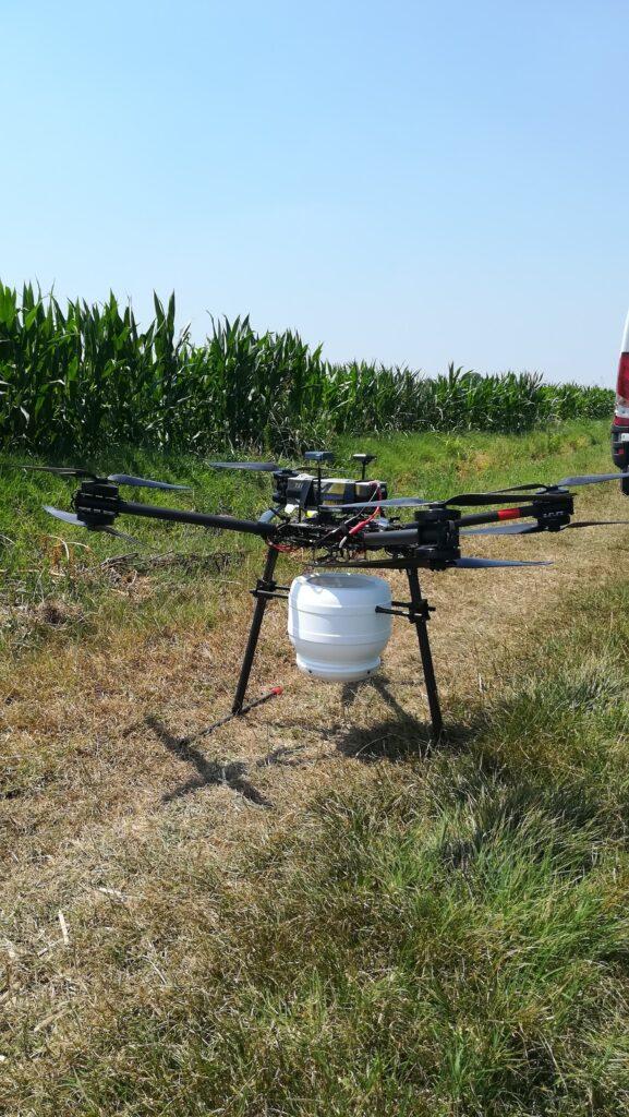 Drone per trattamenti biologici